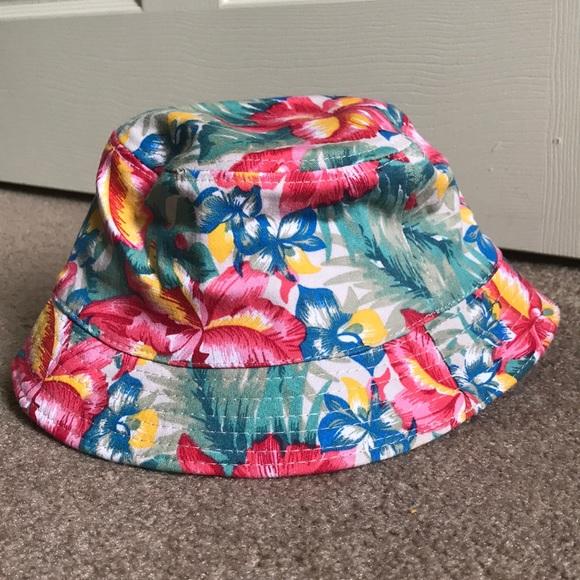 53630c7ba3a Hawaiian Floral Bucket Hat